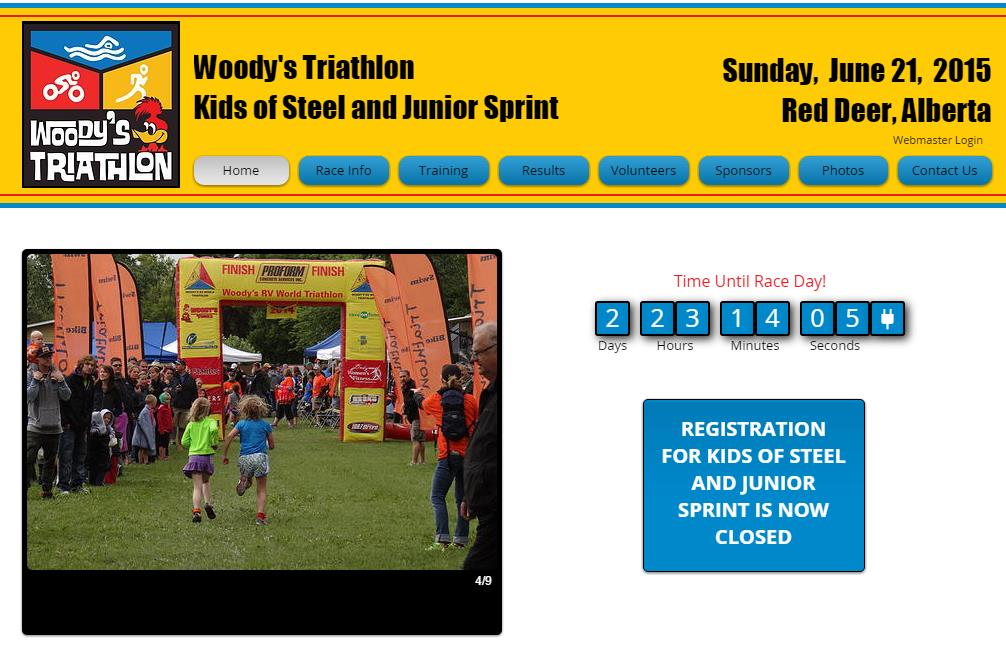 Woody's Triathlon Kids of Steel and Junior Sprint